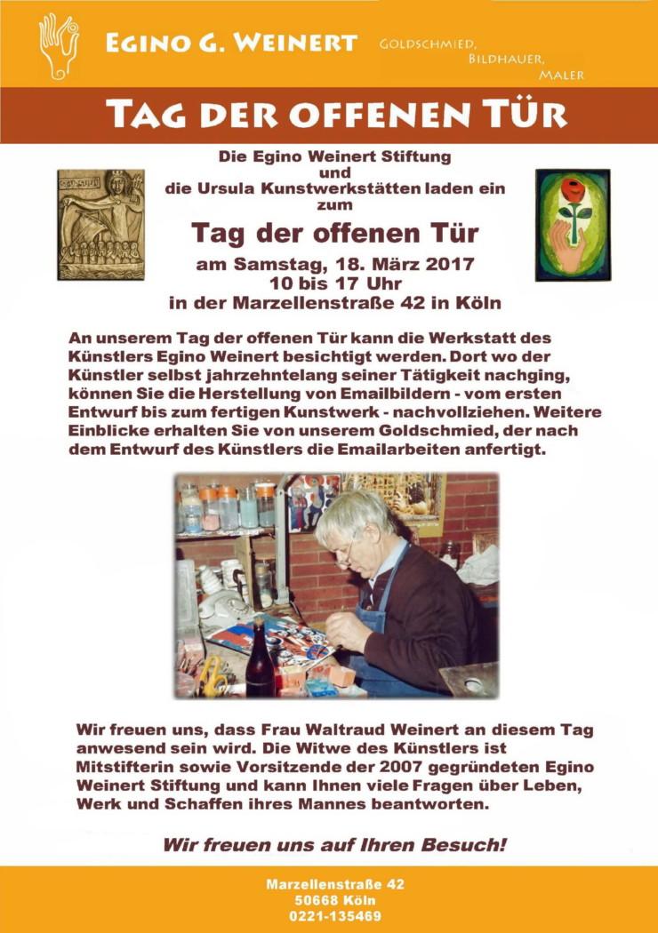 Einladung zum Tag der offenen Tür in Köln